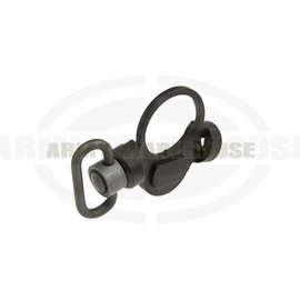 Ambidextrous QD Swivel Slot GBR Version - schwarz (black)