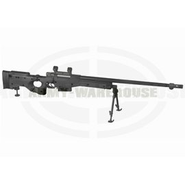 AW .338 Bolt Action Sniper Rifle - schwarz (black)