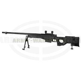AW .338 Bolt Action Sniper Rifle - schwarz (black)