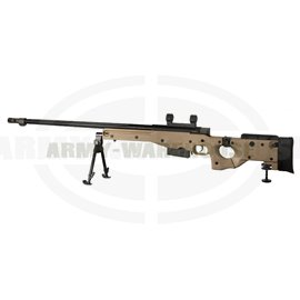 AW .338 Bolt Action Sniper Rifle - Desert
