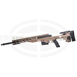 MSR .338 Bolt Action Sniper Rifle - Desert