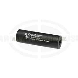 110mm Silencer CCW - schwarz (black)