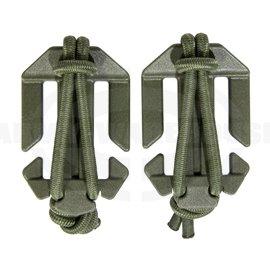 TT QA Webbing Roller 25mm pair - RAL7013 (olive)