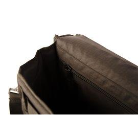ESSL - SB22 Multikfunktions-Schultertasche, schwarz