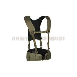 Templar's Gear - 4-Point H-Harness - Ranger Green