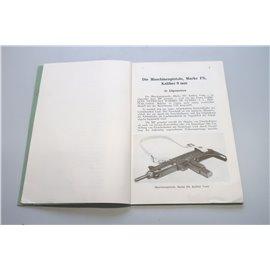 UZI - Dienstanweisung über die Handhabung und Behandlung der Maschinenpistole, Marke FN (UZI-Lizenz), Kaliber 9 mm (DAMP)