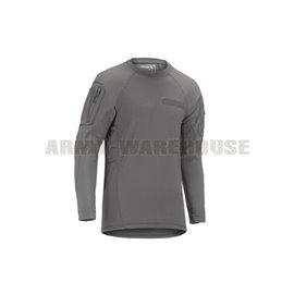 Clawgear - Mk.II Instructor Shirt LS - solid rock (grau)