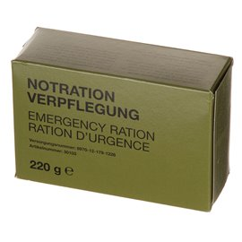 Notration-Verpflegung, 1 Packung 220 g