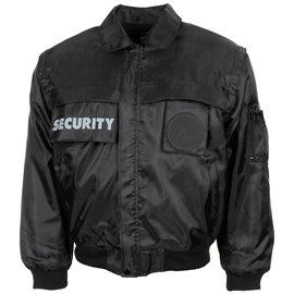 "Blouson, \""Security\"", schwarz"