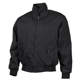 English Style Jacke, schwarz