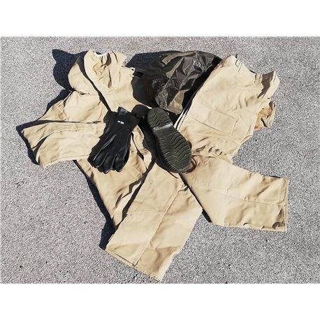 Safeguard ABC Schutzanzug khaki (beige) neuwertig