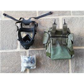 orig. Armee Schutzmaske ABC mit Filter und Tasche neuwertig