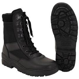 Stiefel, Security-Einsatzstiefel, schwarz