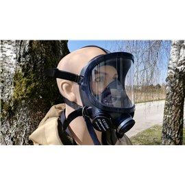 orig. Wilson Armee Schutzmaske ABC schwarz mit Filter und Tasche neuwertig