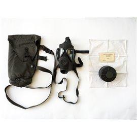 Bundesheer ABC Schutzmaskenset, BH Schutzmaske mit Filter & Tasche, gebraucht
