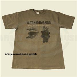 T-shirt - JAGDKOMMANDO - Special Edition, oliv