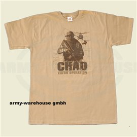 T-shirt - CHAD - Special Edition - khaki