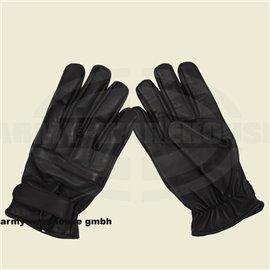 Lederhandschuhe, schwarz, mitQuarzsandfüllung