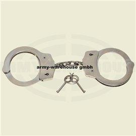 Handschellen, De Lux,2 Schlüssel, Stahl, vernickelt