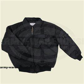 CWU-Piloten-Jacke, schwarz,schwere Ausführung