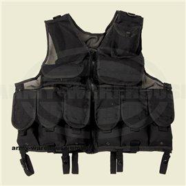 Tactical Weste, Netzeinsatz,schwarz, größenverstellbar
