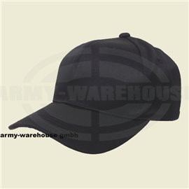 US Cap, mit Schild, schwarz,größenverstellbar
