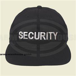 """US Cap, mit Schild, schwarz,bestickt, \""""SECURITY\"""""""