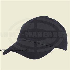 BB Cap, mit Klettverschluß,schwarz, gebogenes Schild