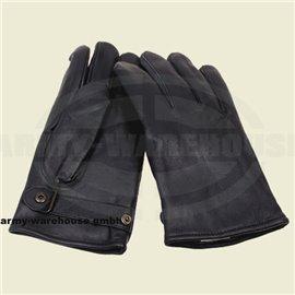 BW Lederhandschuhe, gefüttert,schwarz, Mod.