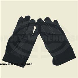 Neopren Fingerhandschuhe,schwarz