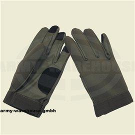 Neopren Fingerhandschuhe,oliv
