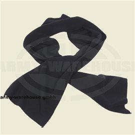 Fleece-Schal, schwarz,160x25 cm