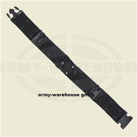 US Lochkoppel, schwarz,mit Plastikverschluss, LC2