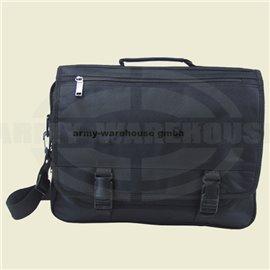 Tasche Laptop, schwarz,mit Trageriemen