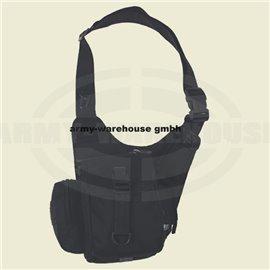 Schulter-Umhängetasche,schwarz