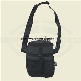 Gürtel-Umhängetasche, schwarz