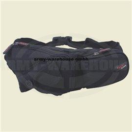 Gürteltasche, schwarz,mit Handytasche