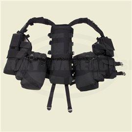 Tactical Weste mit vielenTaschen, schwarz