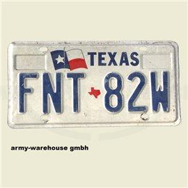 KFZ-Kennzeichen, USA