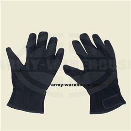 """Fingerhandschuhe, \""""Combat\"""", Neopren, schwarz"""