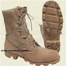 orig. US Desert Boots khaki, Wüstenstiefel beige