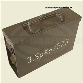 Bundesheer Munitionsbox 7,62 orig. ÖBH , Austrian Army Ammunition Box 1