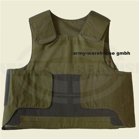 Bundesheer Splitter Schutzweste ÖBH, BH Austrian Army ballistic vest S/M
