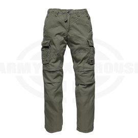 Vintage Industries - reef pant, oliv