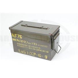 BW Munitionsbox für 12,7mm gegurtet, Bundeswehr AF76 HXP