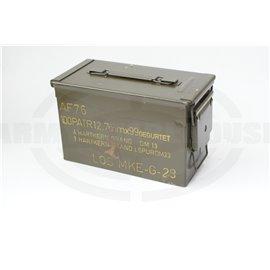 BW Munitionsbox für 12,7mm gegurtet, Bundeswehr AF76