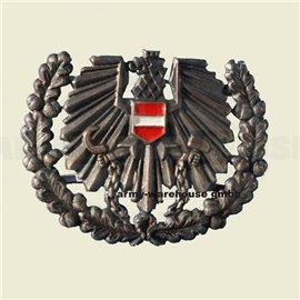österr. Bundesheer Barett/Tellerkappen-Abzeichen, ÖBH Adler, BH, bronze