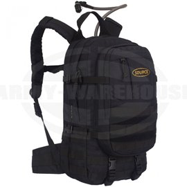 SOURCE - Assault 20L Hydration Cargo Pack- Rucksack, schwarz (black)