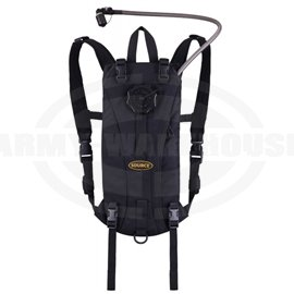 SOURCE - Tactical 3L Hydration Pack, Trinkrucksack, schwarz (black)