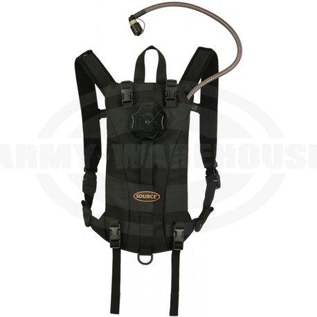 SOURCE - Tactical 2L Hydration Pack, Trinkrucksack, schwarz (black)